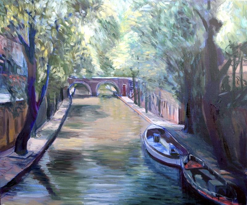 Landschaftsmalerei impressionismus  malen lernen - Impressionistische Malerei